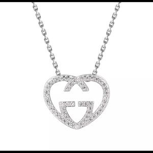 Valentines Gucci Heart Necklace